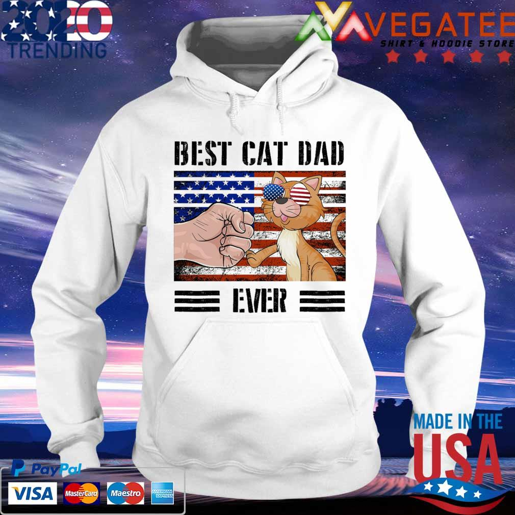 Best cat dad ever american vintage s hoodie