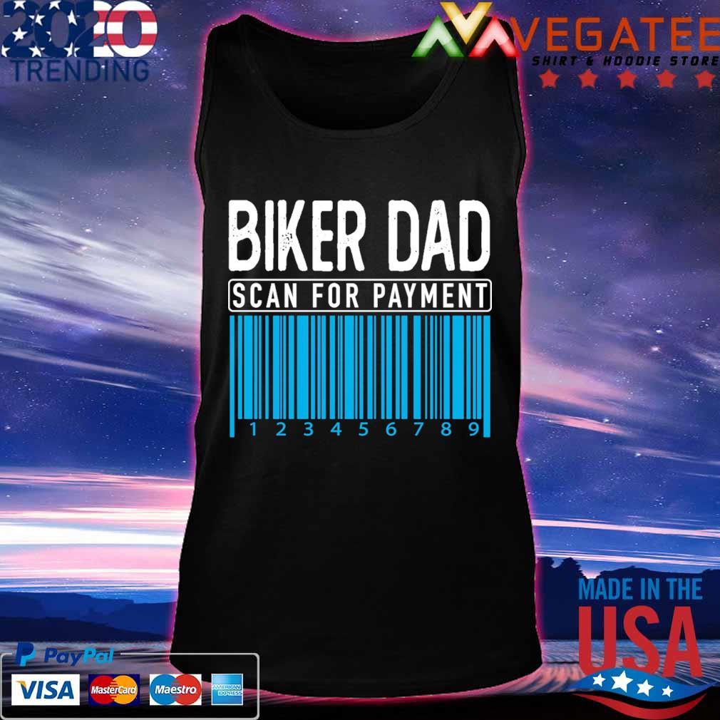 Biker Dad scan for payment s Tanktop