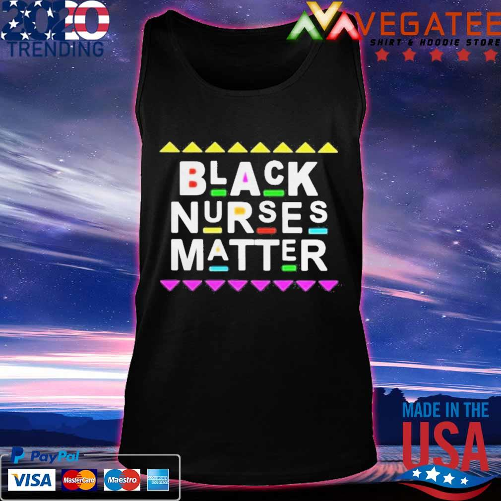 Black Nurses Matter Shirt Tanktop
