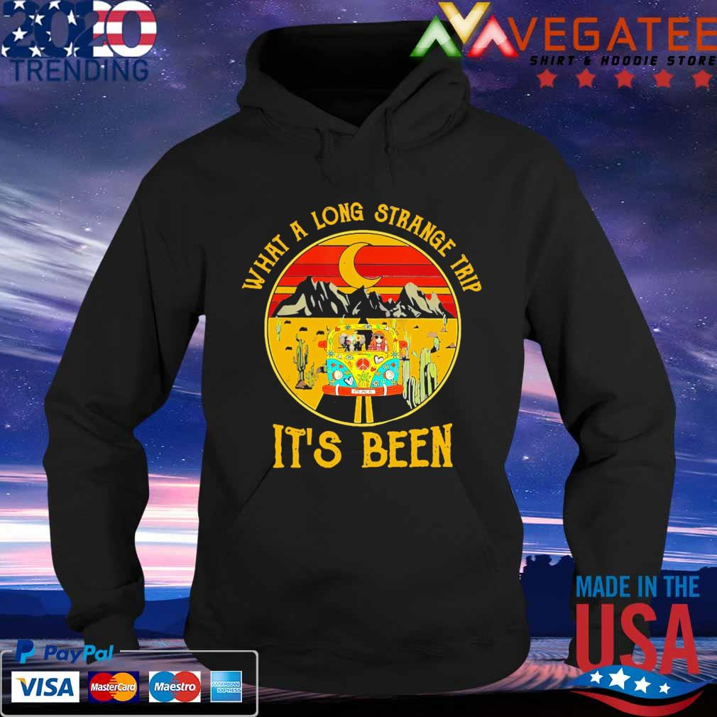 Hippie what a long strange trip it's been vintage s Hoodie