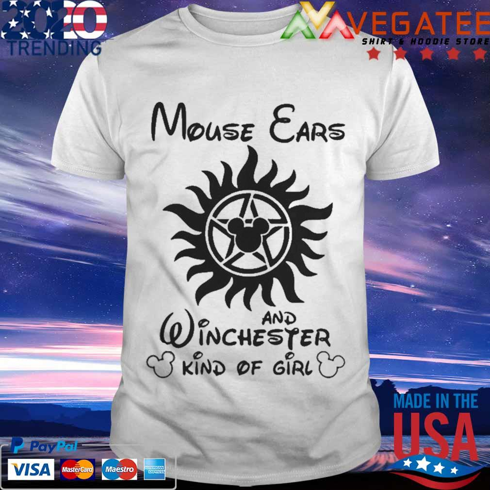 Mouse Cars And Winchester Kind Of Girl Supernatural Shirt