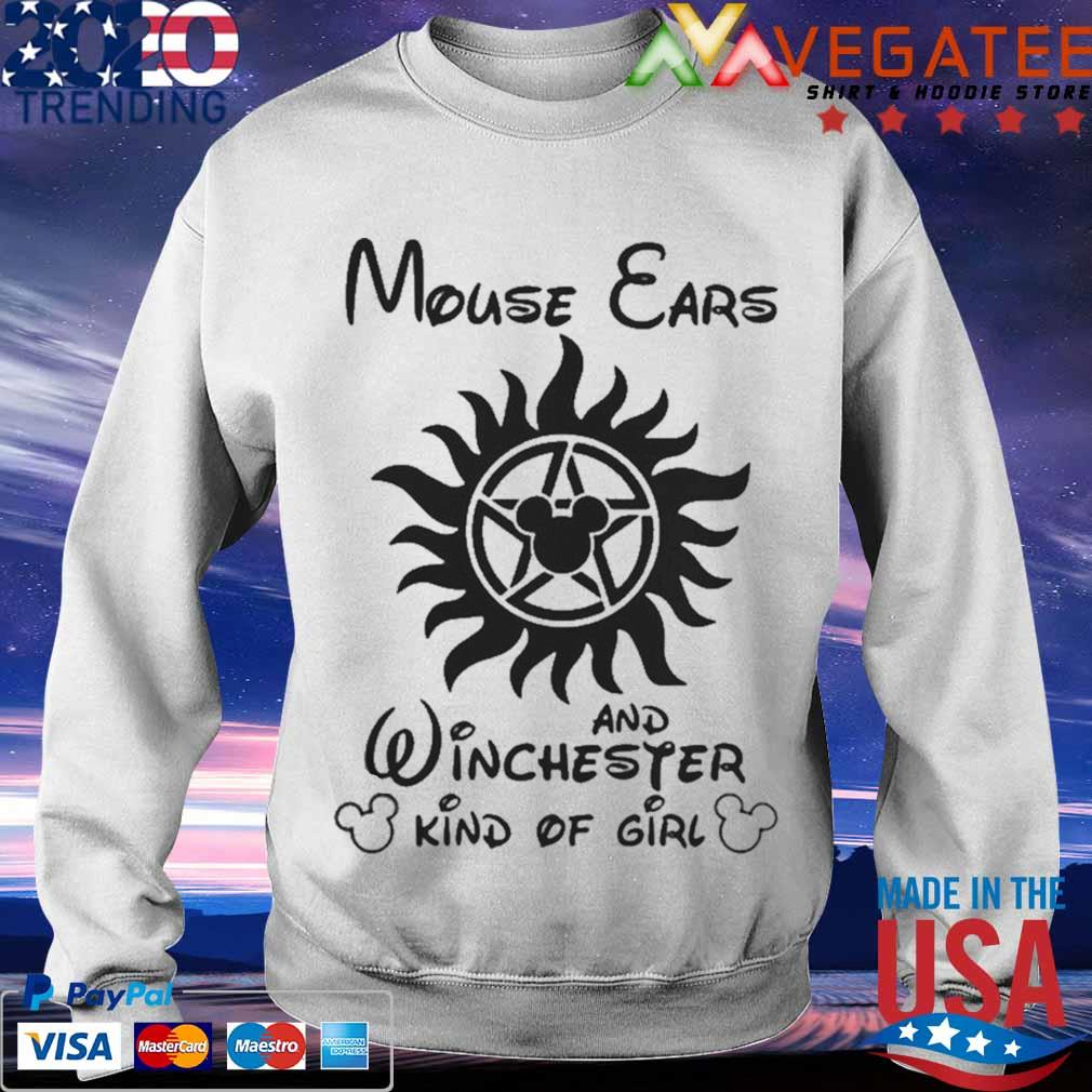 Mouse Cars And Winchester Kind Of Girl Supernatural Shirt Sweatshirt