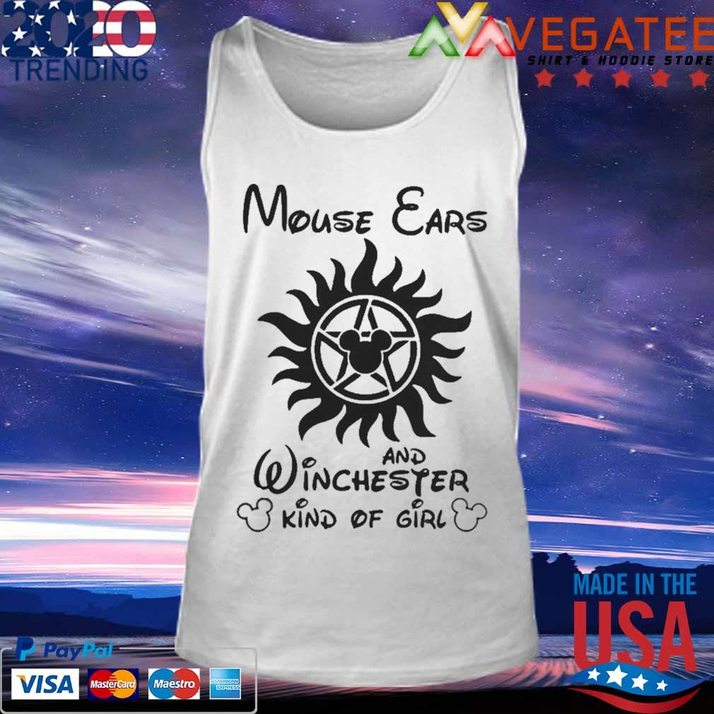 Mouse Cars And Winchester Kind Of Girl Supernatural Shirt Tank top