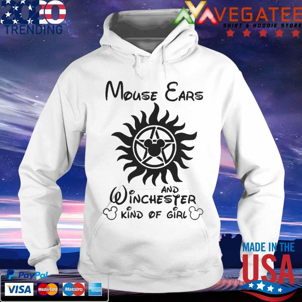 Mouse Cars And Winchester Kind Of Girl Supernatural Shirt hoodie