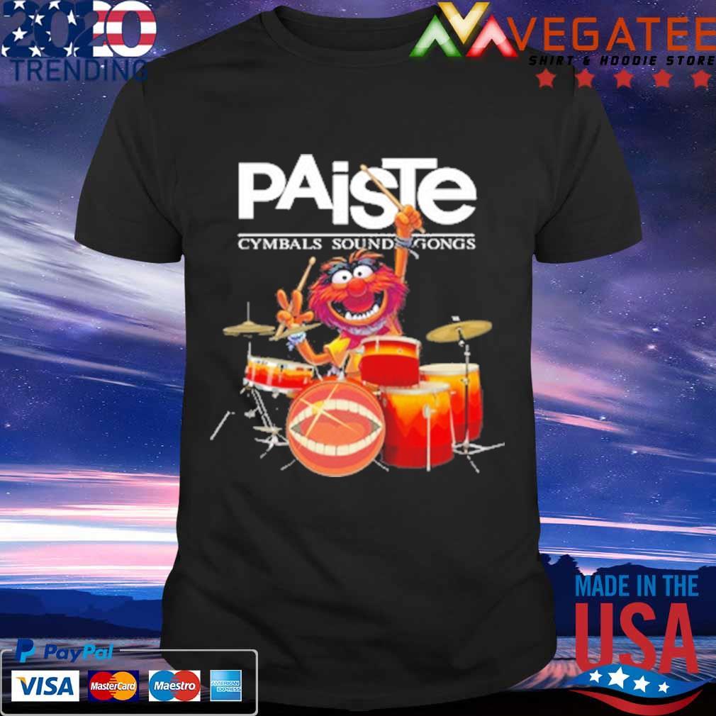 Muppet Drum Paiste Cymbals Sound Gongs Shirt