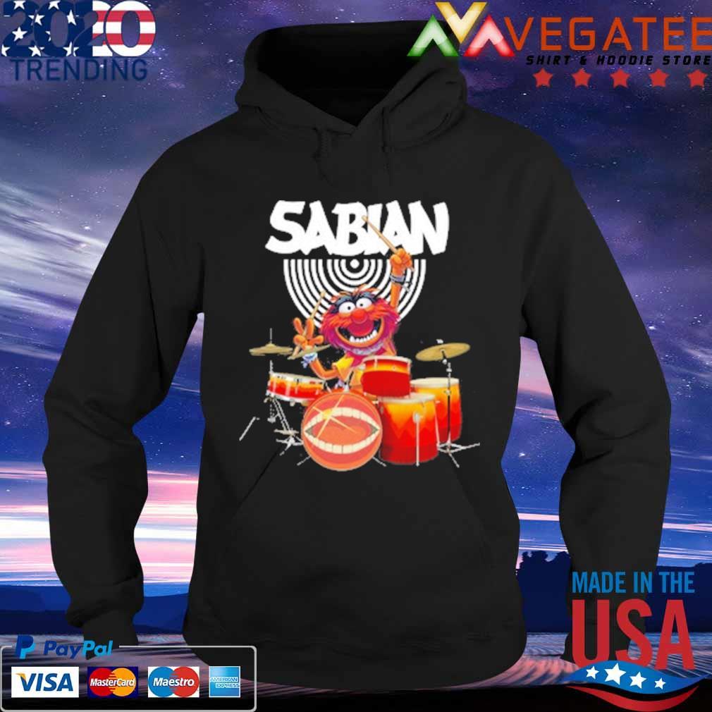 Muppet Drum Sabian Shirt Hoodie