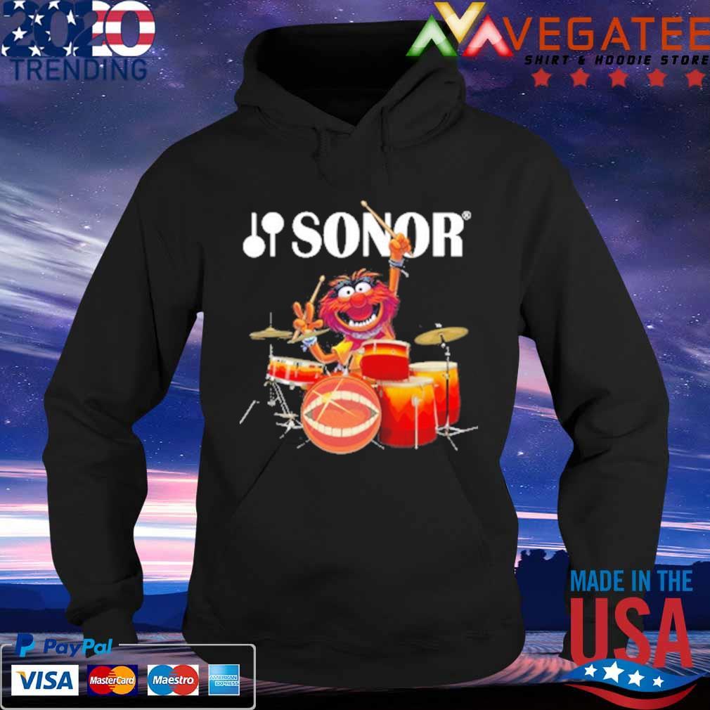 Muppet Drum Sonor Shirt Hoodie