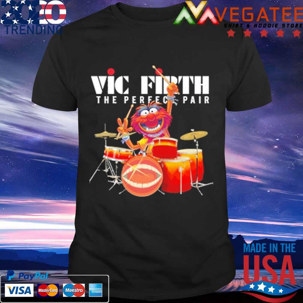 Muppet Drum Vic Firth The Perfect Pair Shirt