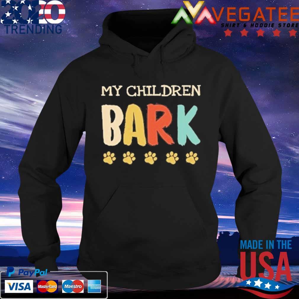 My children bark dog vintage s Hoodie