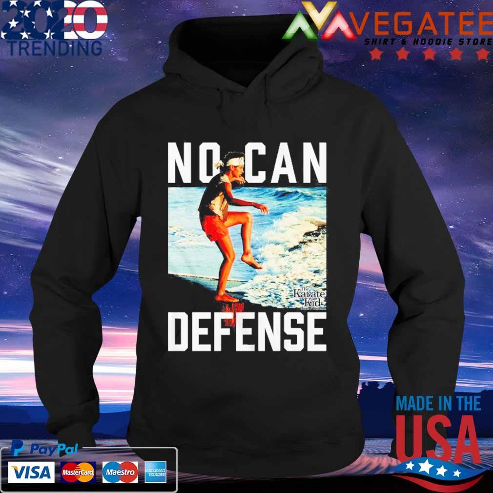 No Can Defense Karate Kid s Hoodie