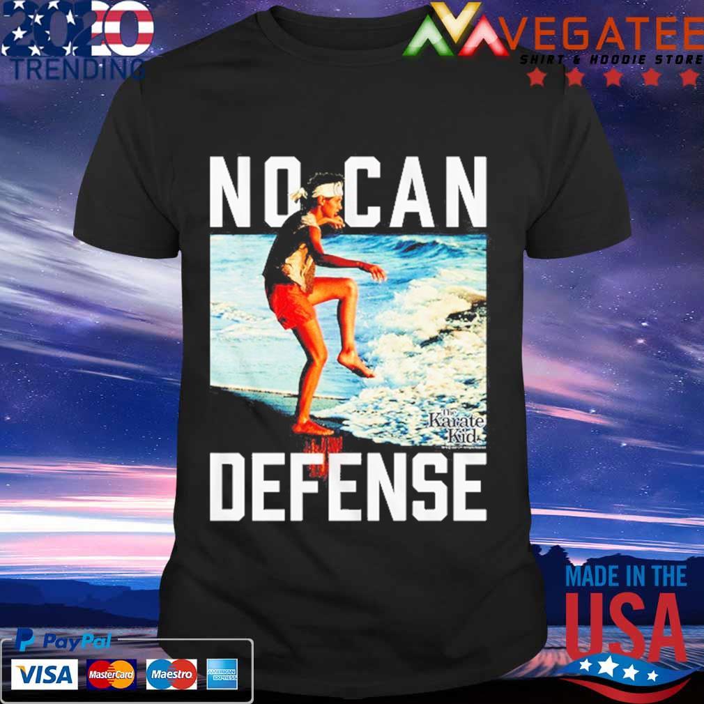 No Can Defense Karate Kid shirt