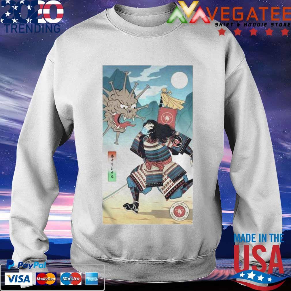 Samurai Vs Virus Demon No 3 Shirt Sweatshirt