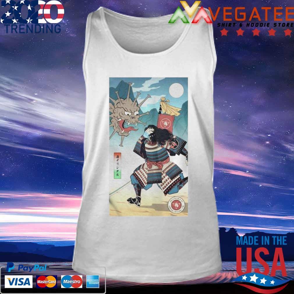 Samurai Vs Virus Demon No 3 Shirt Tank top