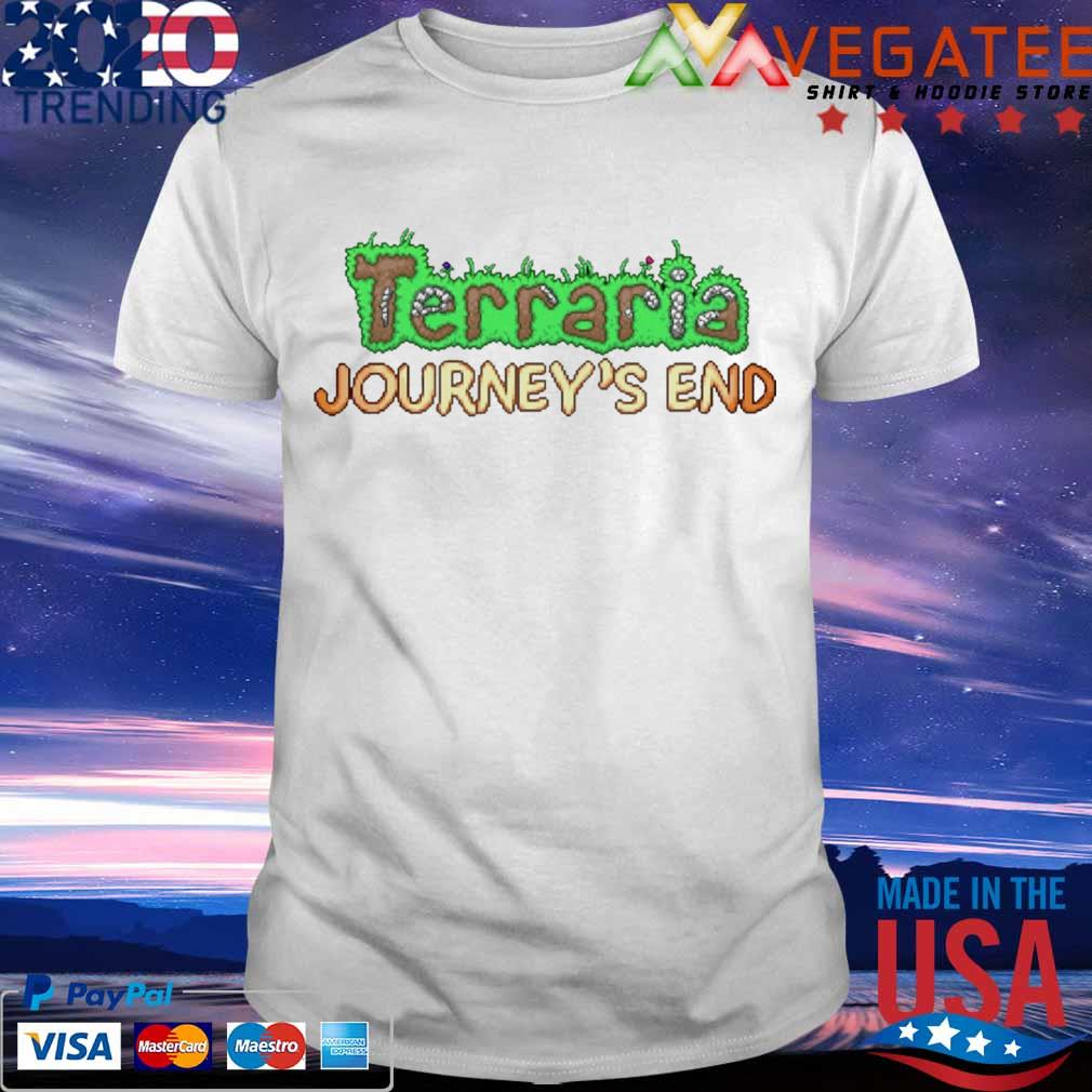 Terraria Journey's end shirt