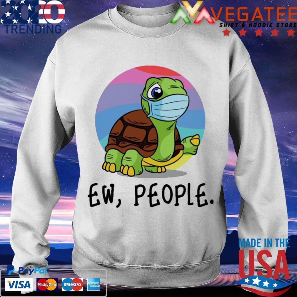 Turtle mask Ew People s Sweatshirt