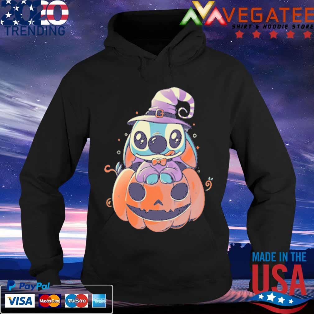Stitch Pumpkin Halloween s Hoodie