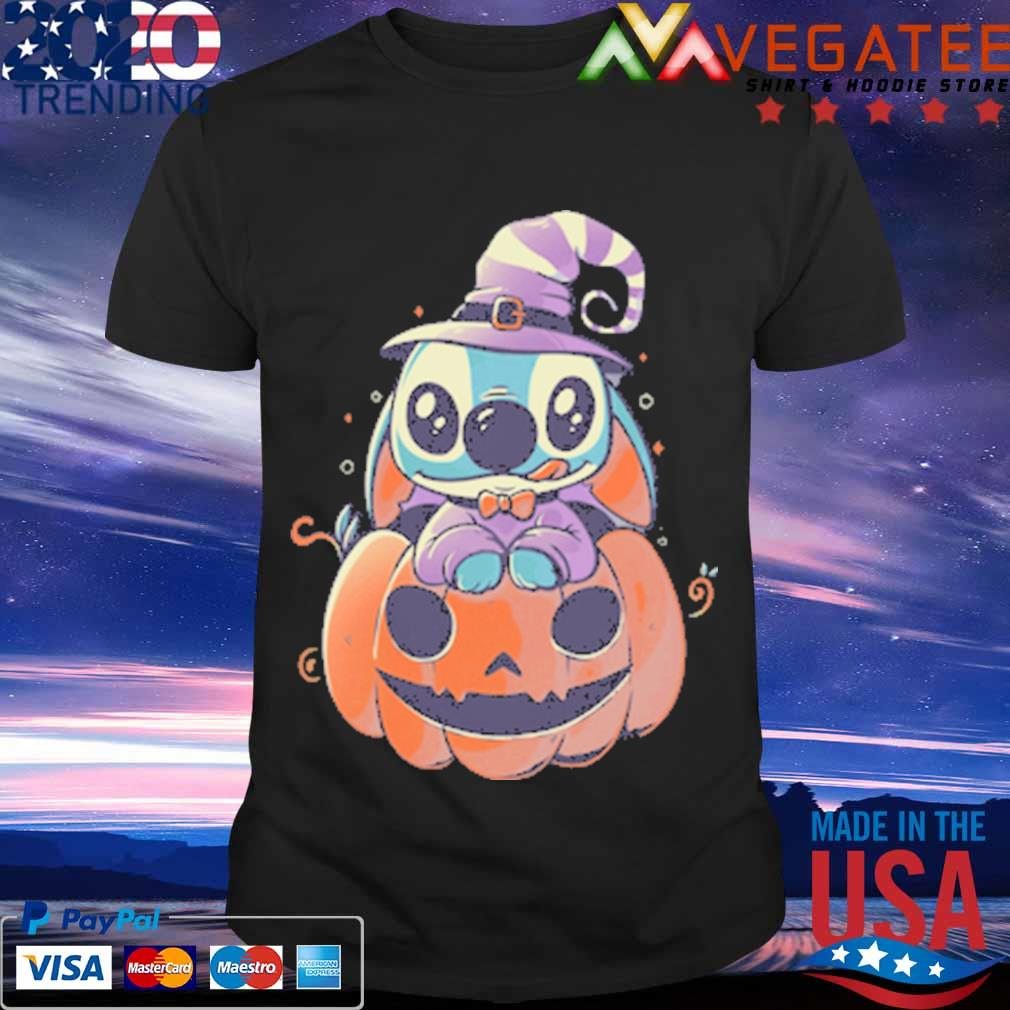 Stitch Pumpkin Halloween shirt