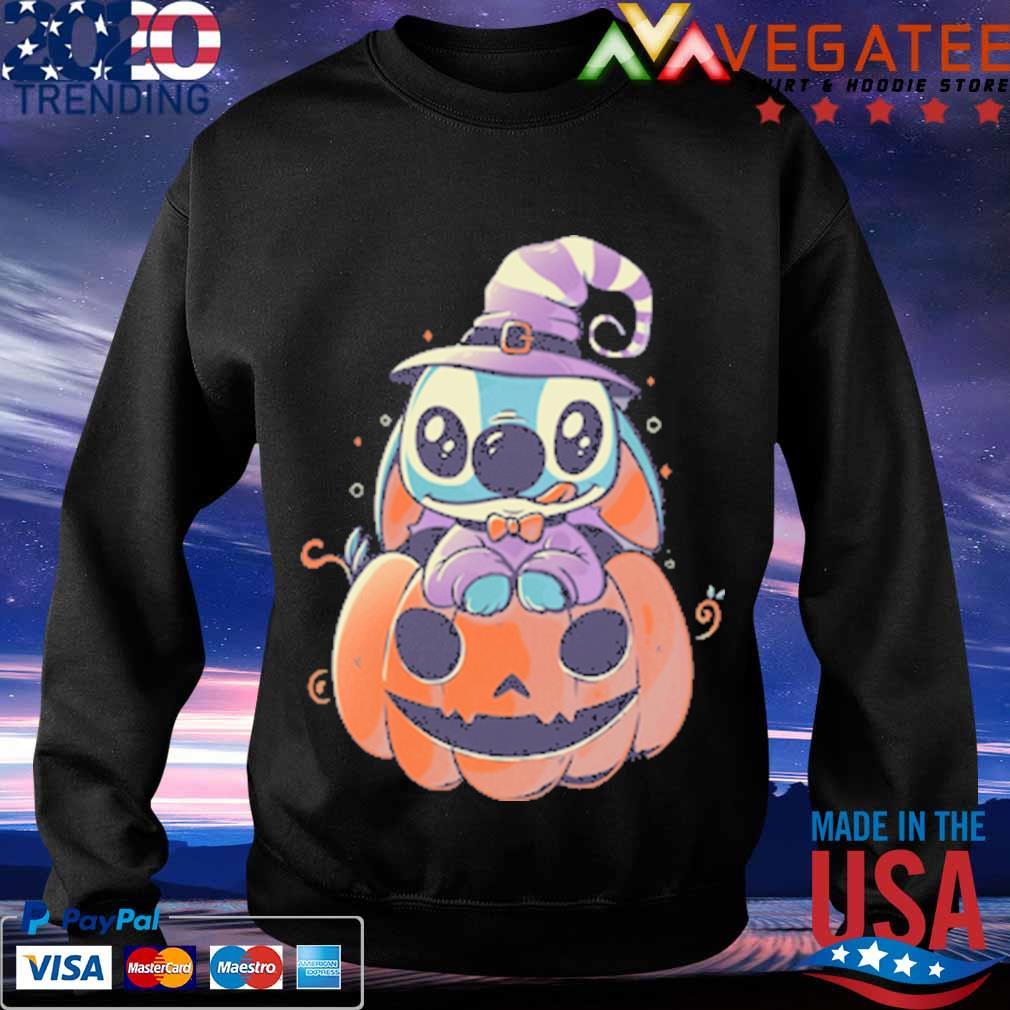 Stitch Pumpkin Halloween s Sweatshirt