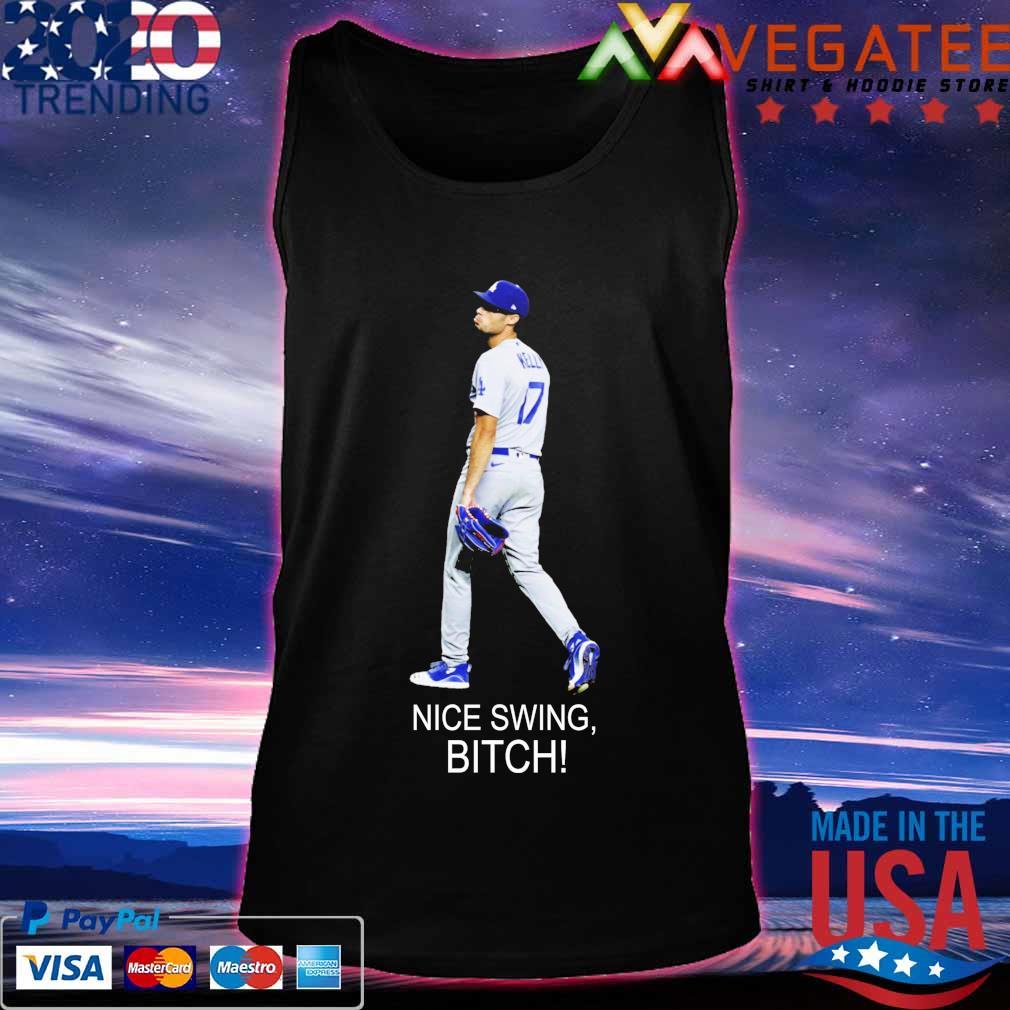 Joe Kelly 17 Dodgers Nice Swing bitch s Tanktop