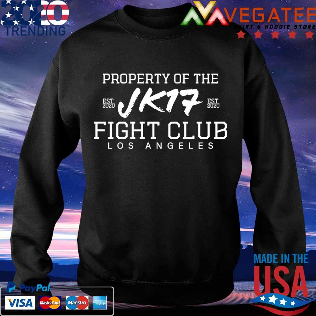 Joe Kelly Property of the Jk17 fight club Los Angeles s Sweatshirt