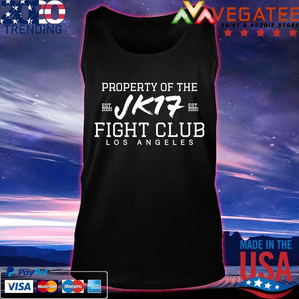 Joe Kelly Property of the Jk17 fight club Los Angeles s Tanktop