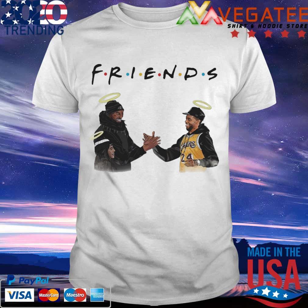 Kobe Bryant and Chadwick Boseman Friends shirt