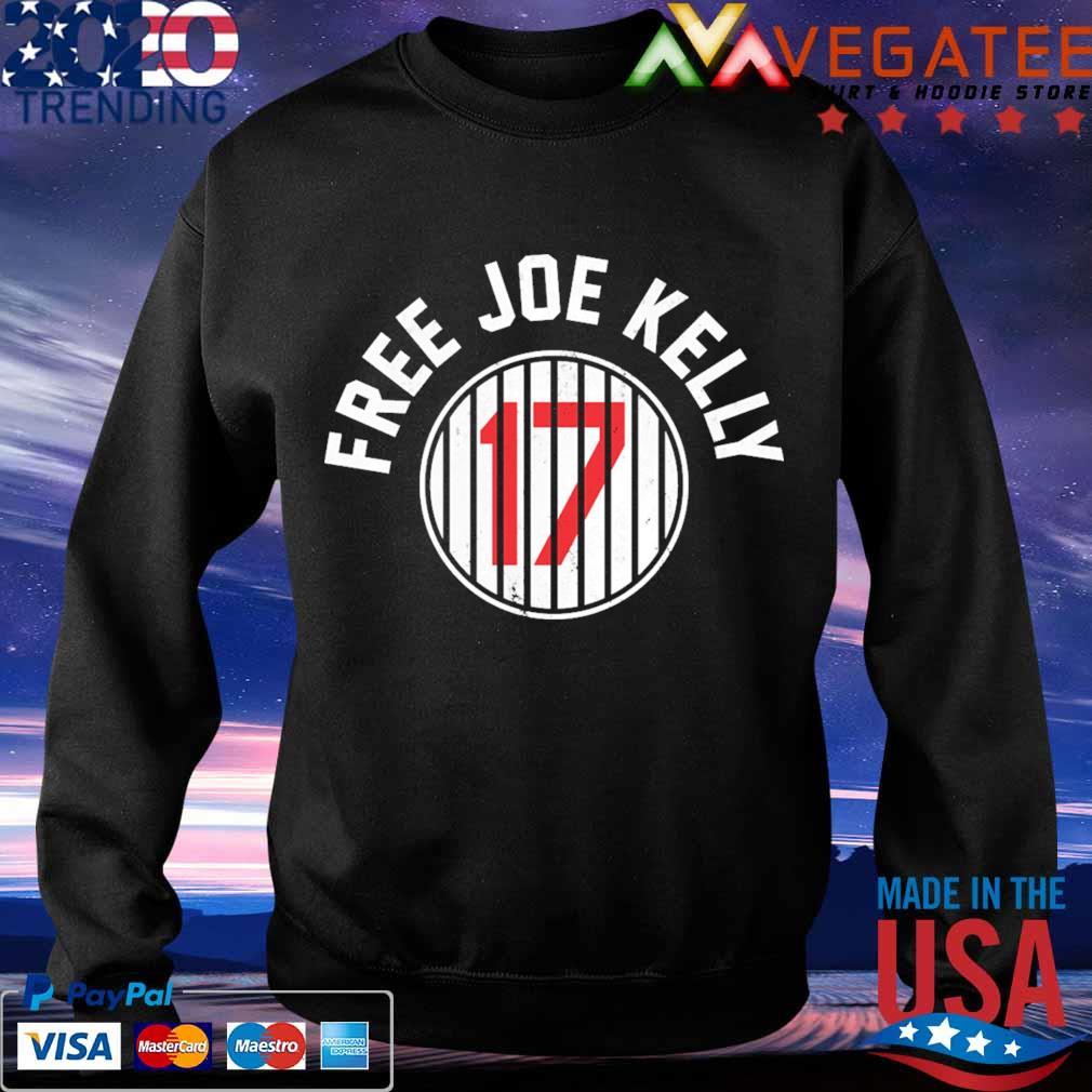 Los Angeles Dodgers 17 Free Joe Kelly s Sweatshirt