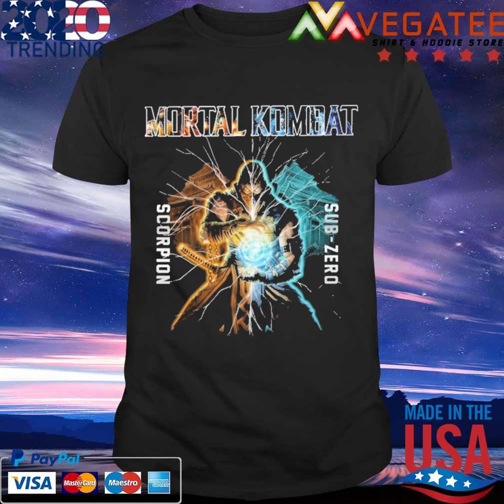 Mortal Kombat scorpion sub zero shirt