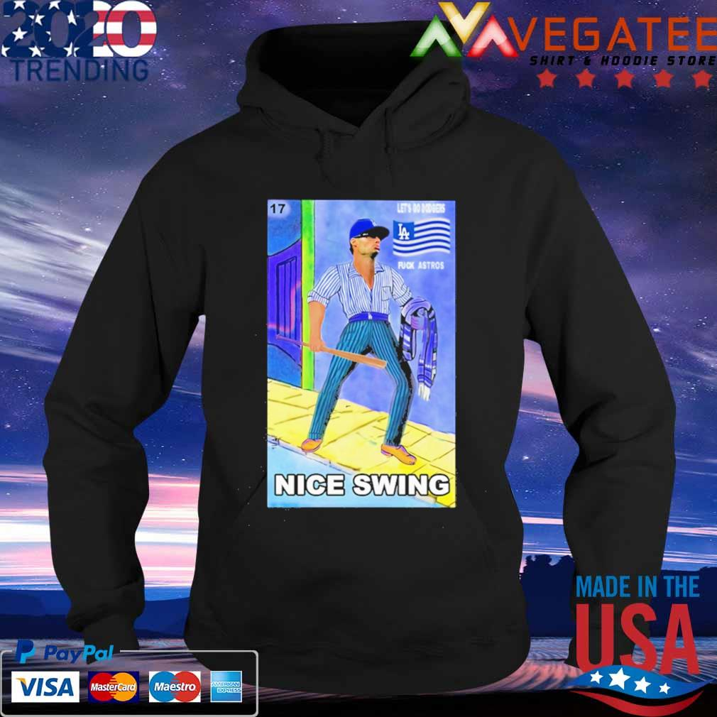 Ready Fight Joe Kelly Les's go dodgers fuck astros nice swing s Hoodie