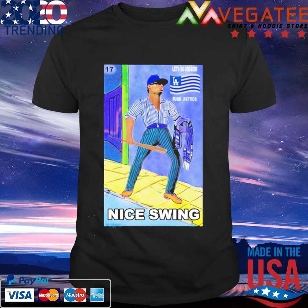 Ready Fight Joe Kelly Les's go dodgers fuck astros nice swing shirt