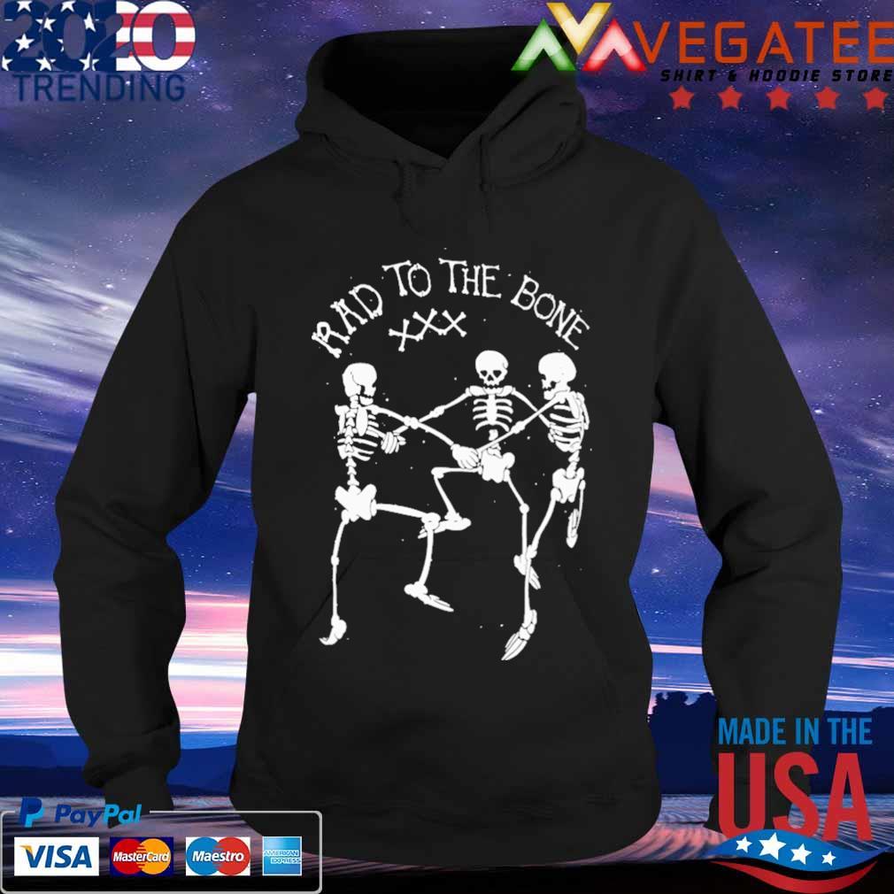 Skeleton dance rad to the bone Halloween s Hoodie