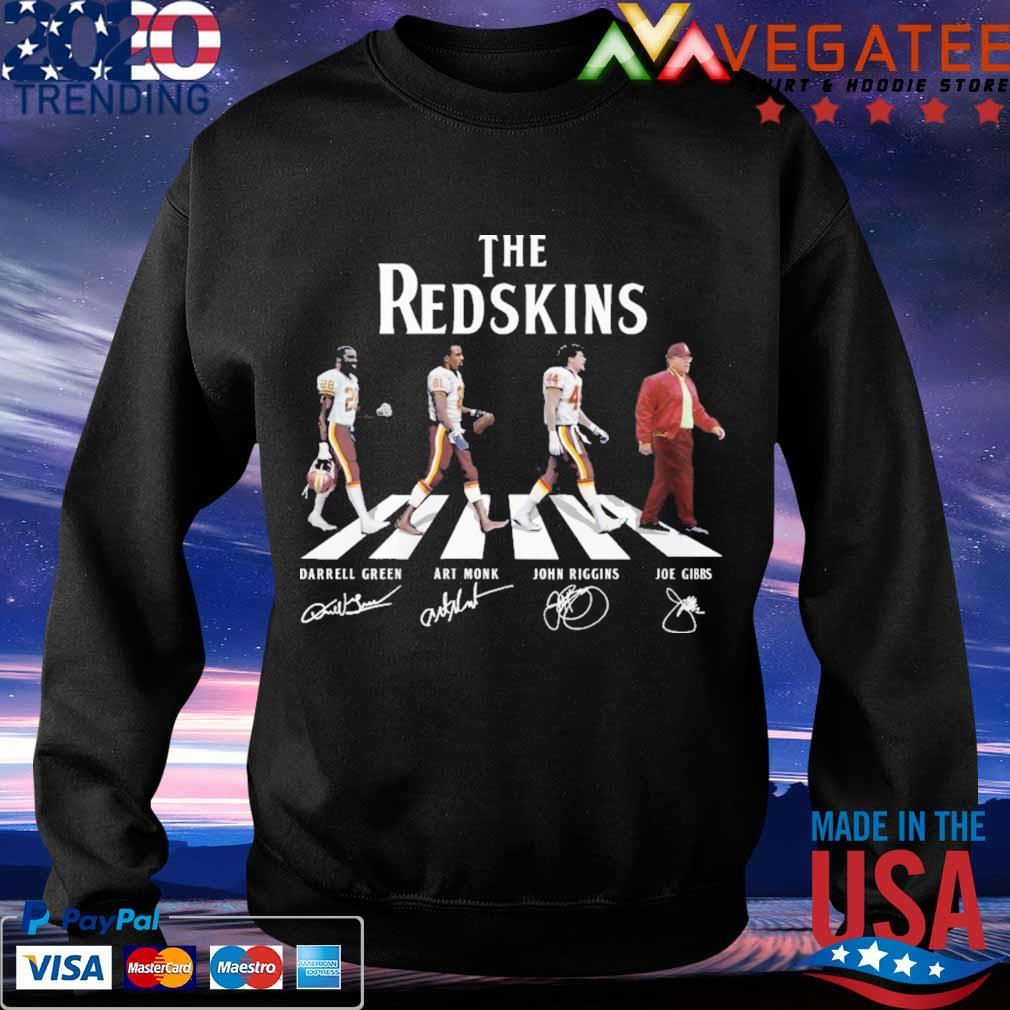The Redskins team abbey road signatures s Sweatshirt