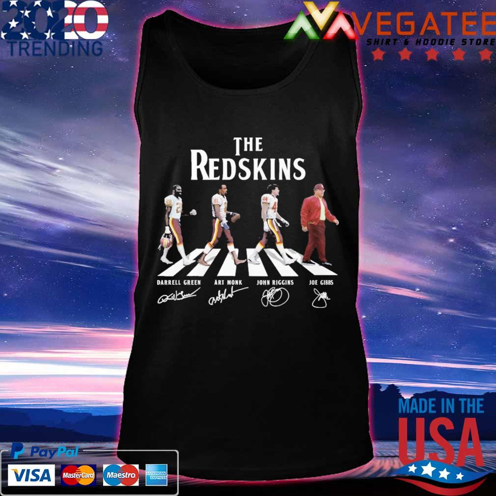 The Redskins team abbey road signatures s Tanktop