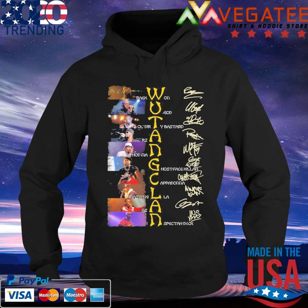 Wu Tang Clan character signature s Hoodie