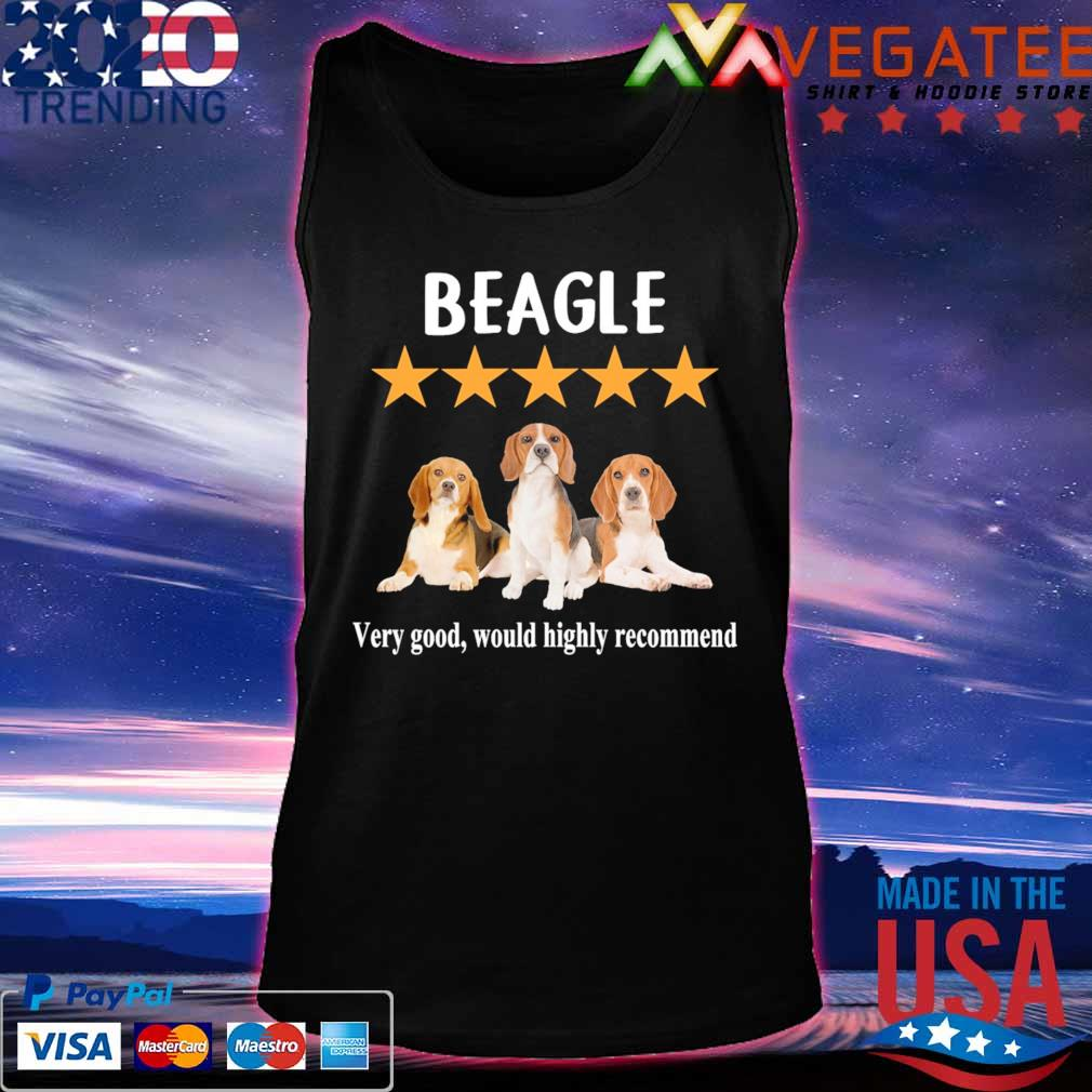 Beagles very good would highly recommend s Tanktop