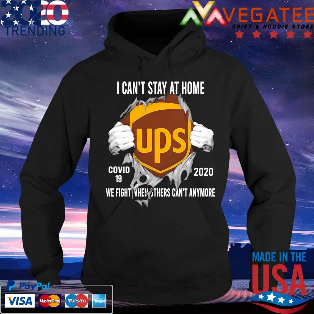 Blood inside me Ups virus corona 2020 we fight when others can't anymore s Hoodie