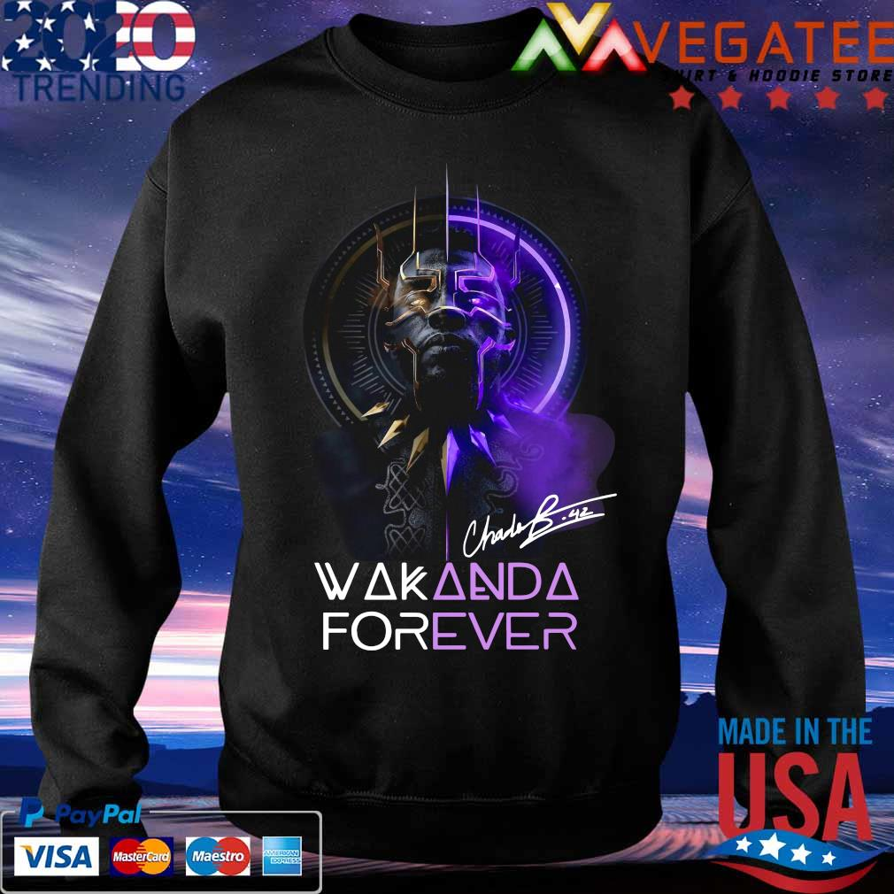 Chadwick Boseman Black Panther Wakanda king forever legend never die s Sweatshirt