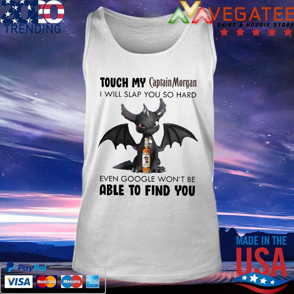 Dark Spyro Touch My Captain Morgan I will slap You so hard even google won't be able to find You s Tank top