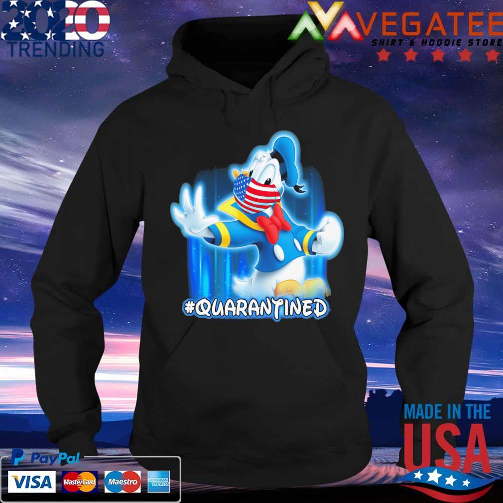 Donal Disney America face mask #Quarantined s Hoodie