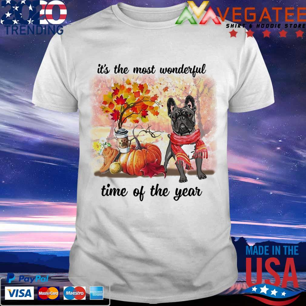 French Bulldog it's the most wonderful time of the year shirt