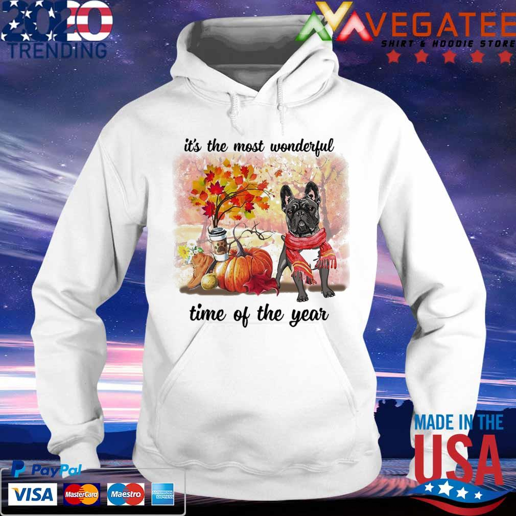 French Bulldog it's the most wonderful time of the year s hoodie