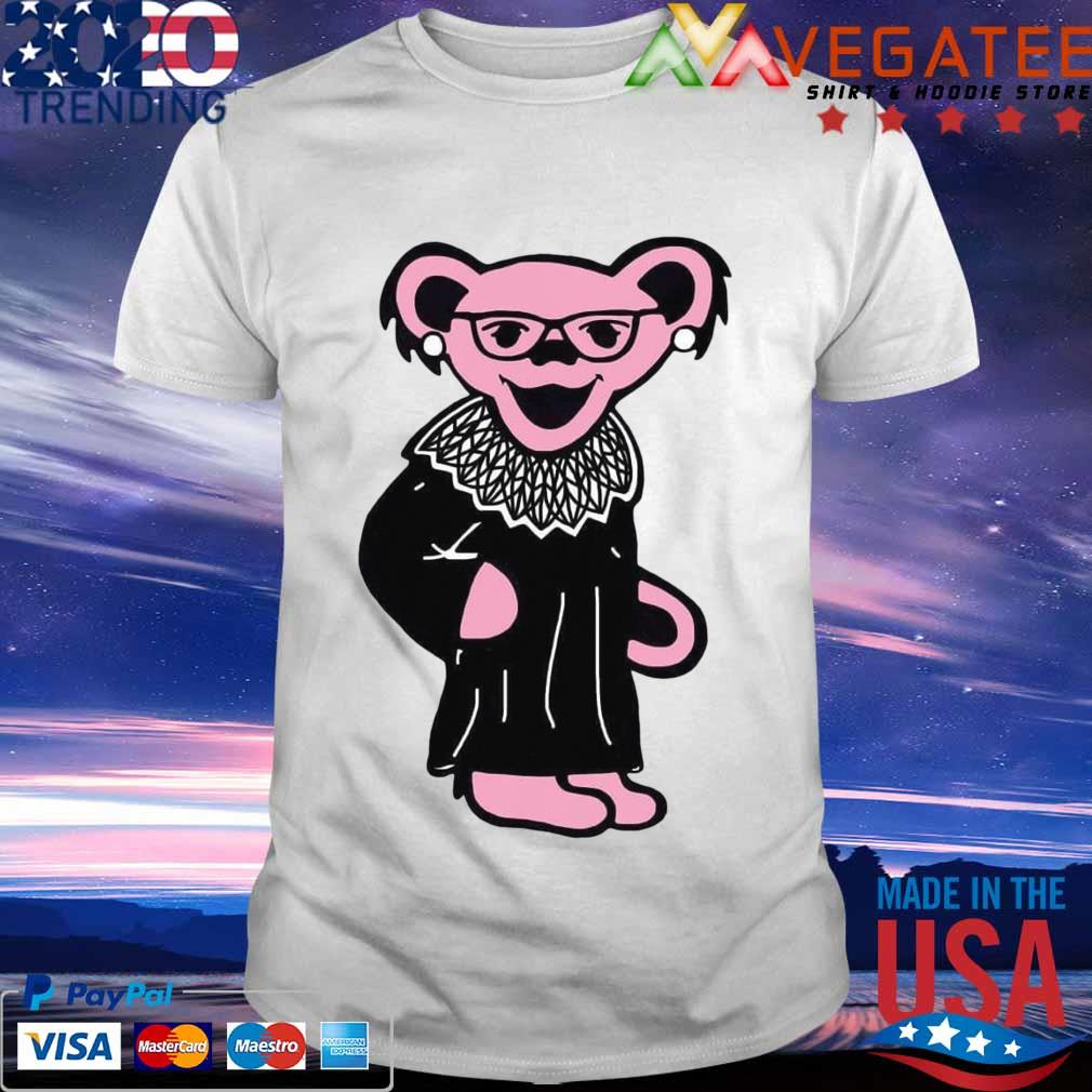 Grateful Dead Bear RBG Ruth Bader Ginsburg shirt