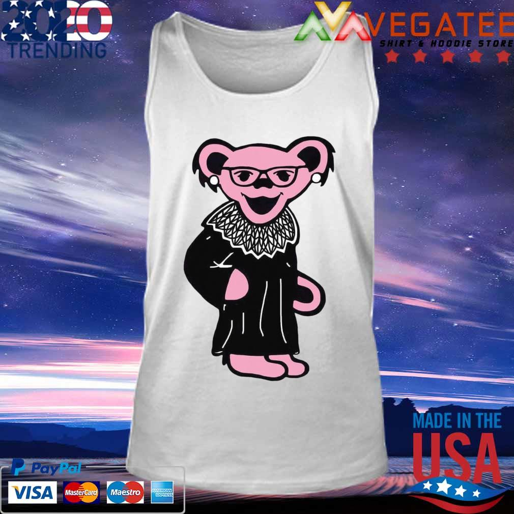 Grateful Dead Bear RBG Ruth Bader Ginsburg s Tank top