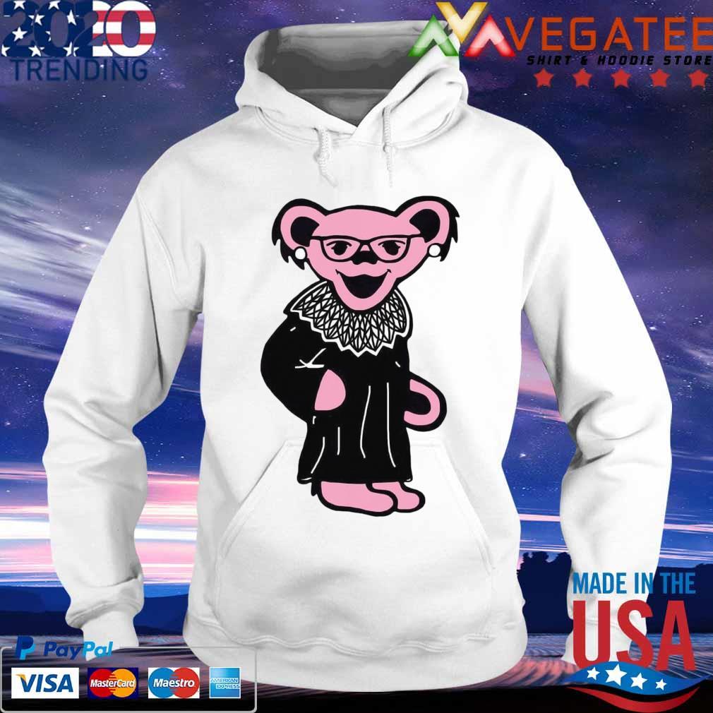 Grateful Dead Bear RBG Ruth Bader Ginsburg s hoodie