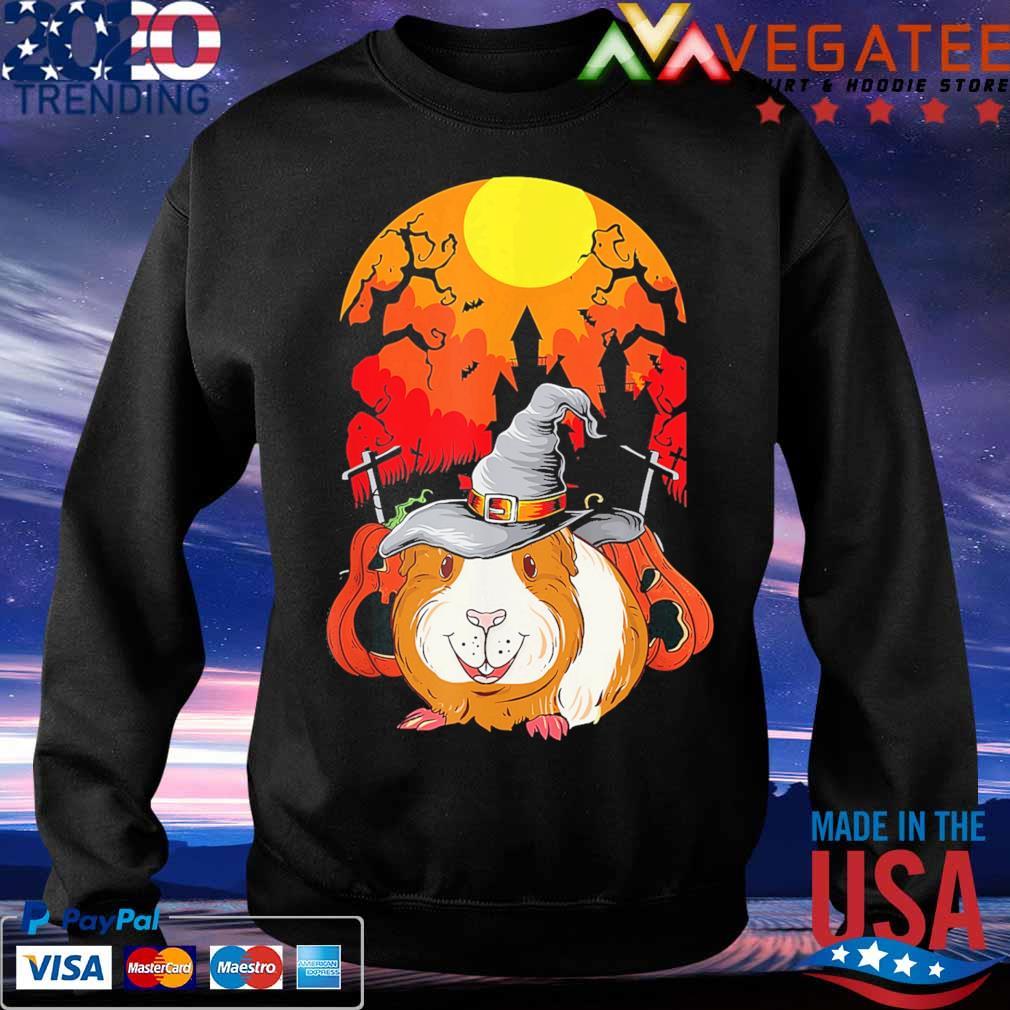 Guinea Pig Witch pumpkin happy Halloween s Sweatshirt