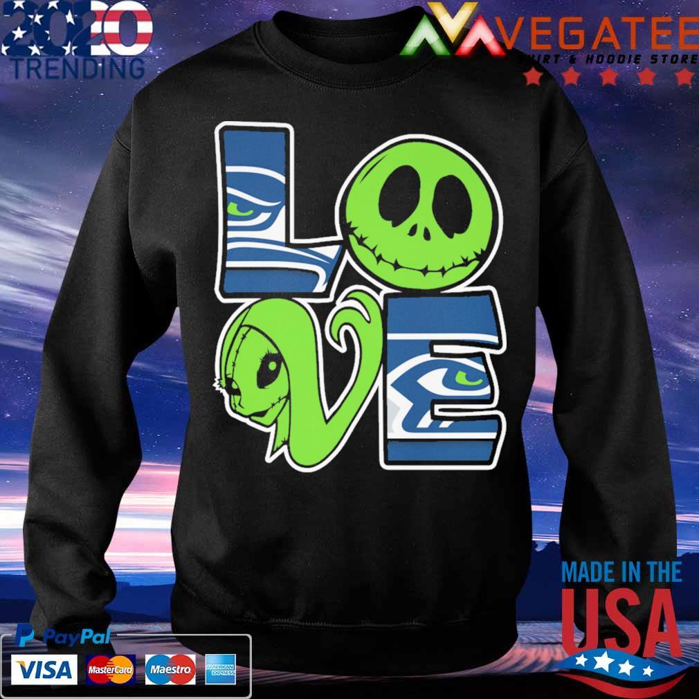 Jack Skellington and Sally love Philadelphia Eagles s Sweatshirt
