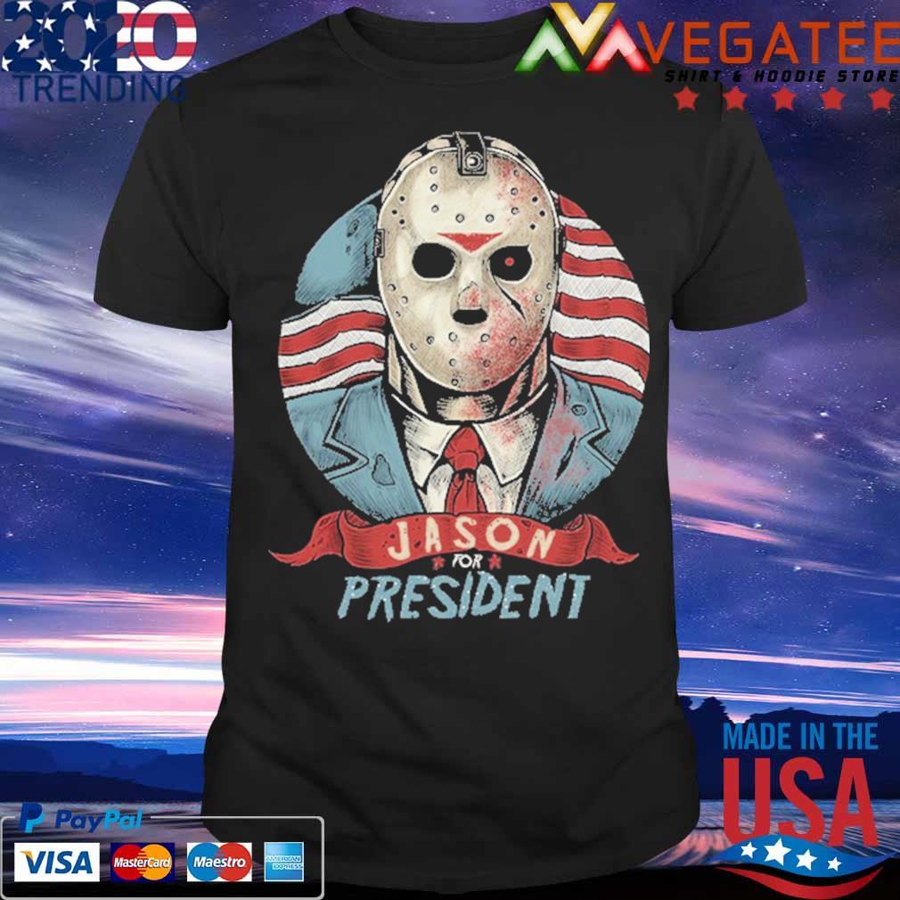 Jason Voorhees for president American flag shirt