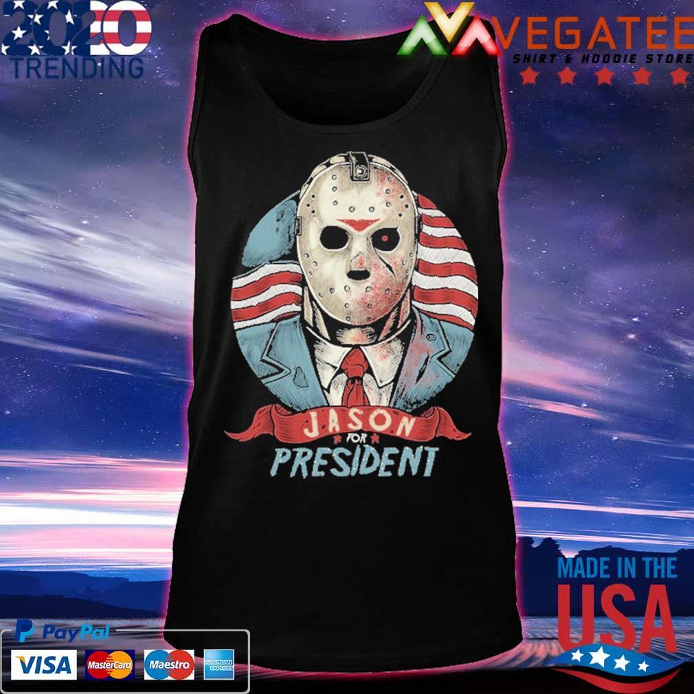 Jason Voorhees for president American flag s Tanktop