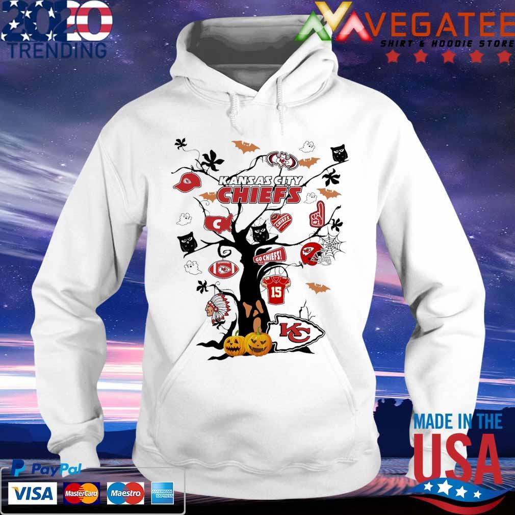 Halloween 2020 Kansas City Kansas City Chiefs Tree Halloween 2020 shirt, hoodie, sweater