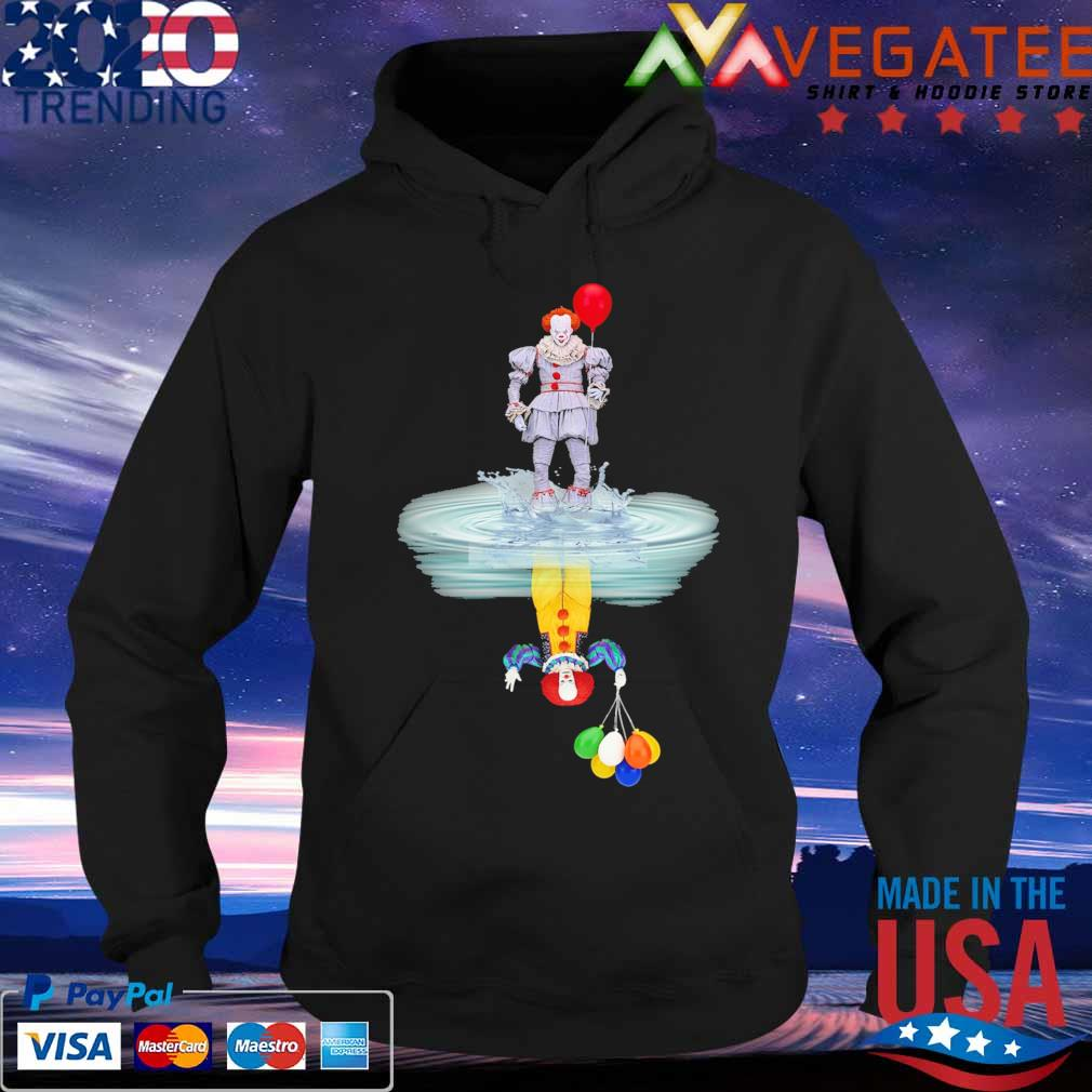 Pennywise reflection mirror water Stephen King s Hoodie